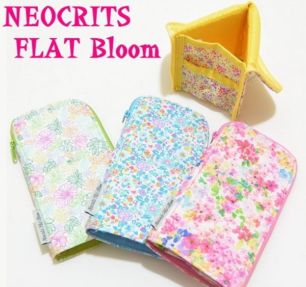 KOKUYO【Neoclits Flat Bloom】筆袋化妝包限量款F-VBF160